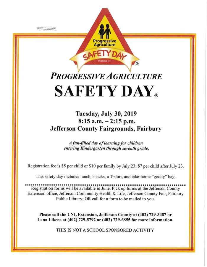 Progressive-Safety-Day-Fairbury, Nebraska