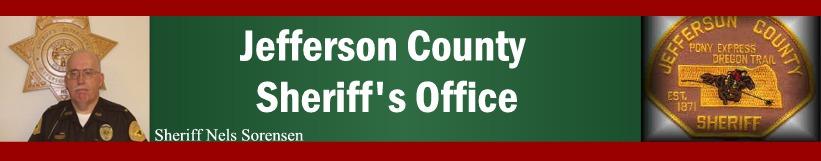 Jefferson County Sheriff's Office, Fairbury, Nebraska